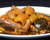 Braised Sea Cucumber with Duck
